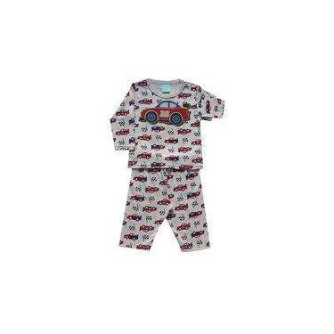 Pijama infantil menino Carrinhos kyly