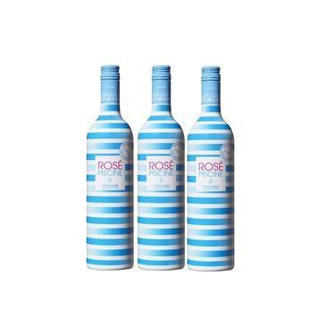 3 Vinhos Franceses Rosé Piscine - 750ml