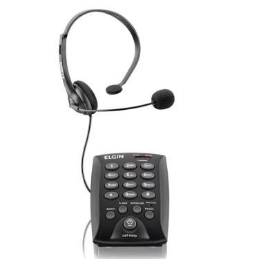 Elgin Telefone Headset Hst-6000 P/Telemark. C/Fio
