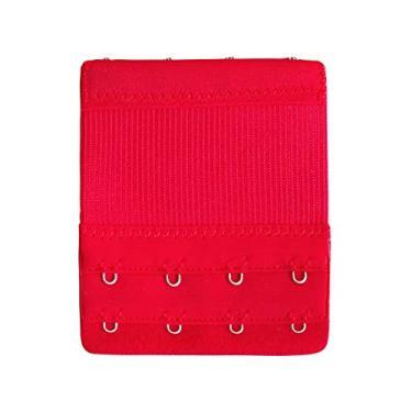 Grampear,Baugger Mulheres Extensor de Sutiã 4 Gancho 2 Linhas Ajustável Elástica Ajustável Sutiã Strap Adaptador Converter Underwear