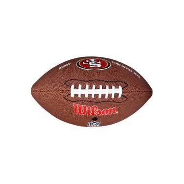 Bola De Futebol Americano Wilson Nfl Team Logo San Francisco Jr c01d64304971d