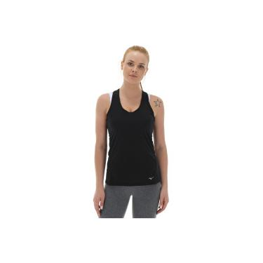 Camiseta Regata Mizuno Active - Feminina - PRETO Mizuno 01b60d949b7