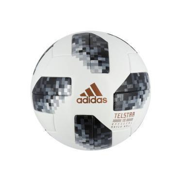 Bola de Futebol de Campo Telstar Oficial Copa do Mundo FIFA 2018 adidas OMB  - BRANCO ee4436bd8255c