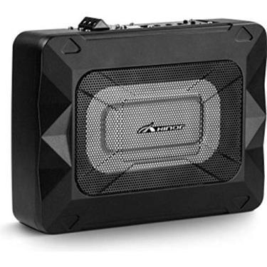 Caixa Amplificada Hinor Active Box Slim 8 Pol Aluminium 250w
