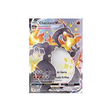 Imagem de Charizard-VMAX (SV107/SV122) - Carta Avulsa Pokemon