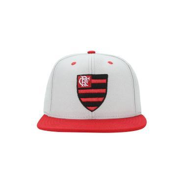 Boné Aba Reta do Flamengo 6G Logo Starter - Snapback - Adulto - CINZA  Starter 0f4763fb3ec