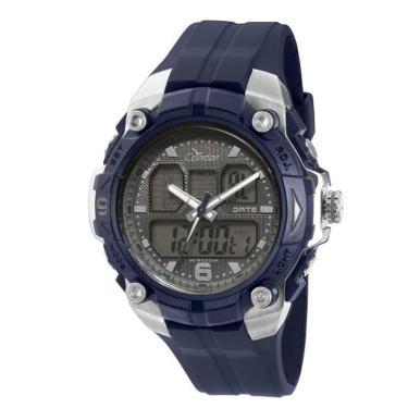 fc599c7e8ba Relógio Masculino Condor Anadigi COAD0912A 8C - Azul