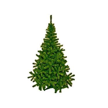 Árvore De Natal 2,20M-Cheia Galhos Verde Brilha Natal E Very