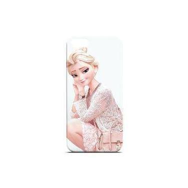 Capa Para Iphone 5 E 5s De Plástico - Frozen | Elsa 3