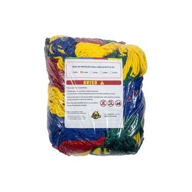 Imagem de Rede De Proteção Colorida Canguri Para Cama Elástica De 2,44/2,50 M