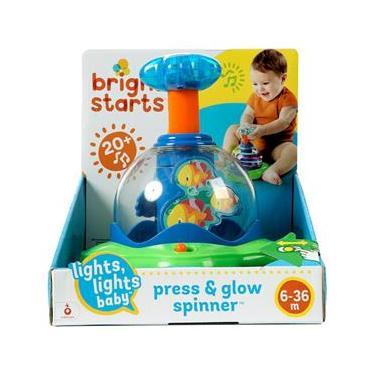 Imagem de Spinner Bright Starts Press e Glow 10042 Brasbaby