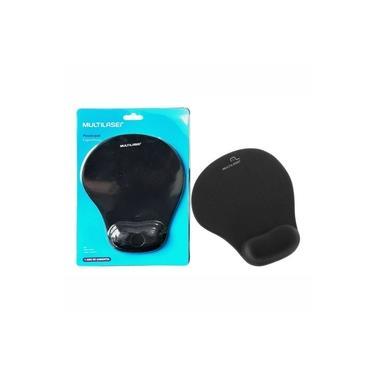 Mousepad Apoio Ergonômico Gel AC024 Preto - Multilaser