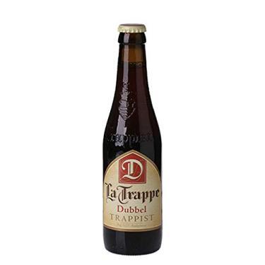 Cerveja holandesa La Trappe Dubbel 330ml