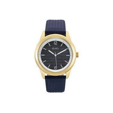 d530052b1fb Relógio Euro Feminino Ref  Eu2033ao 2a Fashion Dourado