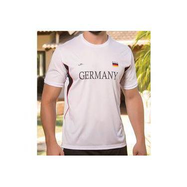5a20384667 Pechinchas-28% Camiseta Masculina Dry Line Alemanha 125708 Elite