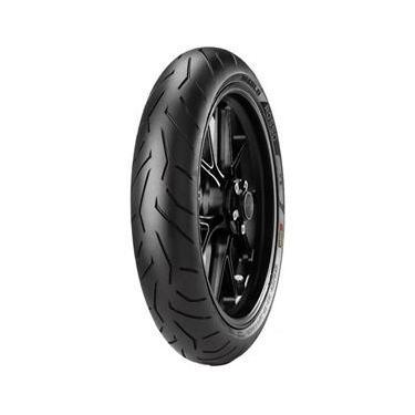 Pneu Cbx 250 Twister Fazer 250 100/80r17 Tl 52h Diablo Rosso II Pirelli