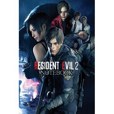 RESIDENT EVIL 2 Notebook: 120 Empty Pages with lines size 6 x 9