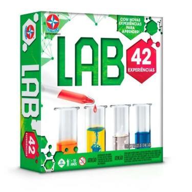 Jogo Kit De Experiências Lab 42 - Estrela