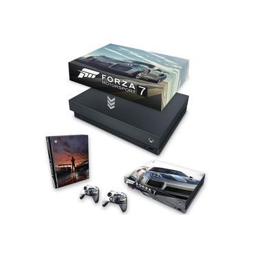 Capa Anti Poeira e Skin para Xbox One X - Forza Motorsport 7