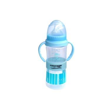 Imagem de Mamadeira Com Controle De Temperatura 2 Em 1. Mamadeira e garrafinha de transição. 330ml. 6+. Bebê.