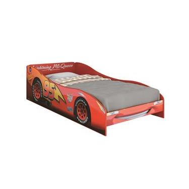 29f5af99fc Cama Infantil Pura Magia Carros Disney Plus - Vermelho