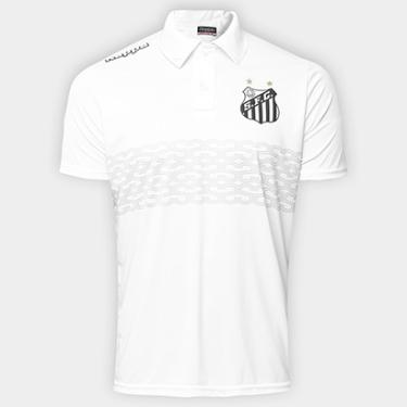 Camisa Polo Santos Geraldino 17 Masculina - Masculino d27c7350b82ec