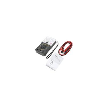 Imagem de Mini multímetro analógico portátil ac / dc voltímetro amperímetro ohm fusível / testador de diodos