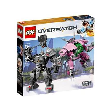 LEGO Overwatch D.Va & Reinhardt 75973 - 455 Peças