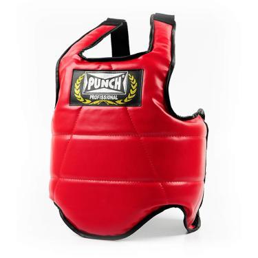 Protetor De Tórax G/Gg Punch Unissex G/Gg Vermelho