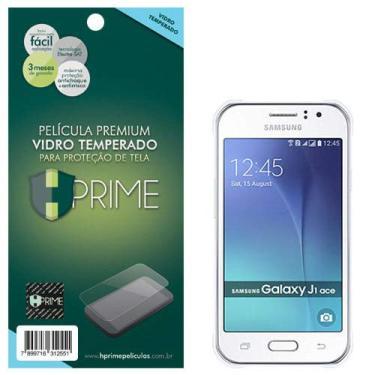 Pelicula de Vidro temperado 9h HPrime para Samsung Galaxy J1 Ace, Hprime, Película Protetora de Tela para Celular, Transparente