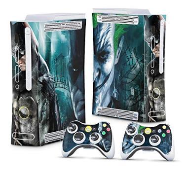 Skin Adesivo para Xbox 360 Fat Arcade - Batman Arkham Asylum