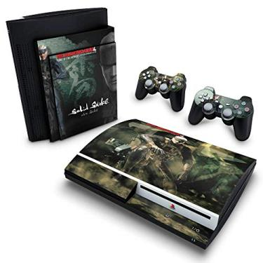 Skin Adesivo para PS3 Fat - Metal Gear Solid 4
