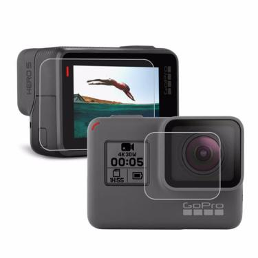 PULUZ Camera Lens Film Protetor LCD Dispaly Protetor de tela para Gopro Hero 5 Banggood