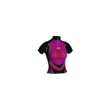 Camisa Ciclismo Ciclista Bike Roupas Uniforme Infantil Pink