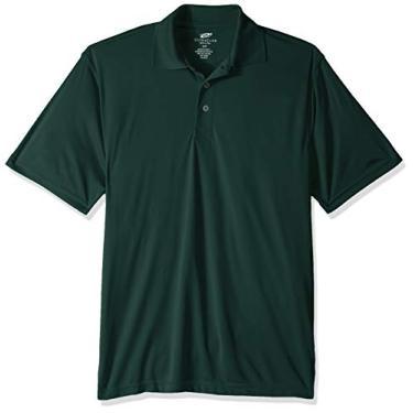 Imagem de Camisa polo masculina UltraClubs ULTC-8425-Cool & Dry Sport Performance Interlock, azul-royal XGG, Forest Green, 4X