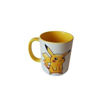 Caneca Pokémon Pikachu color yellow