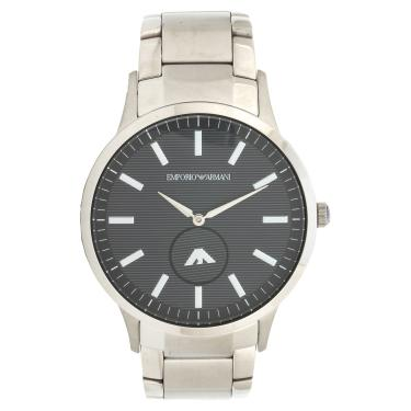 18247d5b5fc Relógio Empório Armani AR111181KN Prata Empório Armani AR111181KN masculino