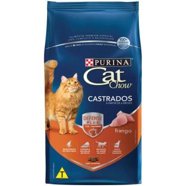 Ração Nestlé Purina Cat Chow para Gatos Castrados - 10,1 Kg