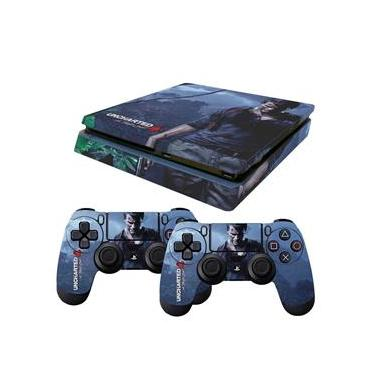 Skin PS4 Slim Uncharted 4 A