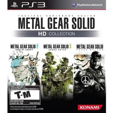Jogo Metal Gear Solid Hd Collection Ps3