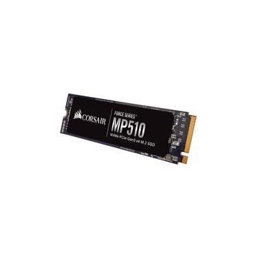 SSD Corsair Force Series MP510 480GB M.2 Leituras: 3480MB/s e Gravações: 2000MB/s - CSSD-F480GBMP510B
