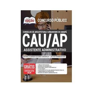 Imagem de Apostila Assistente Administrativo Cau Ap - Urbanismo Amapá