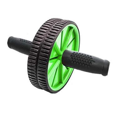 Roda Exercício Abdominal e Lombar - Verde - Mbfit