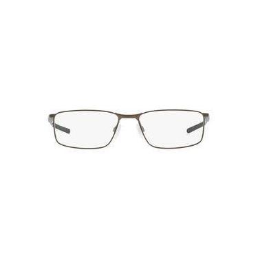 d71bbb33f Óculos De Grau Oakley Frame Sockt 5.0 Ox3217 321702/53 Grafite