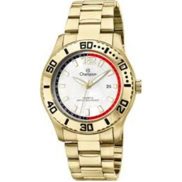 af2490743ec Relógio Masculino Champion CA30249D Dourado