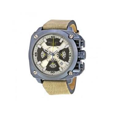 815c7131c49 Relógio Masculino Diesel Modelo DZ7342 Pulseira em Couro   A prova d  água