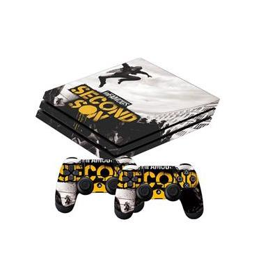 Skin PS4 Pro Infamous Second Son