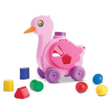 Brinquedo Pata Bota Ovo Baby Land 3012 Rosa Cardoso