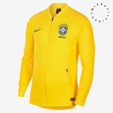 15f09d9b30 Jaqueta Nike Brasil Anthem Masculina