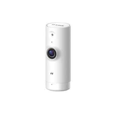 Mini Câmera Wi-Fi D-Link HD 720p 120º Gravação na Nuvem 5 mts de IR Interna - DCS-8000LH V. A3